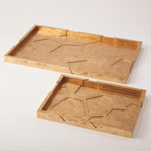 Cosmo Tray-Luxe Gold Leaf