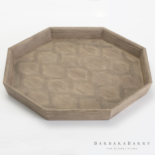 Parquet Tray-Larch