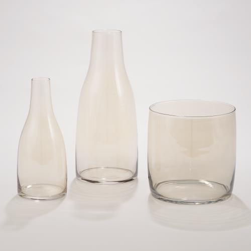 Aurora Vase-Citrine-Round