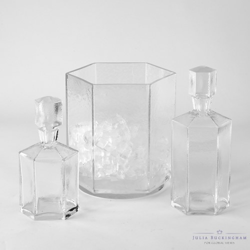 Hex Ice Bucket & Decanter