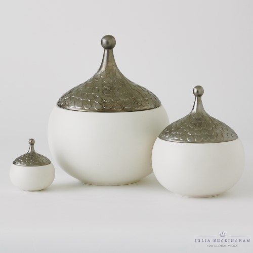 Teardrop Vase-Snow