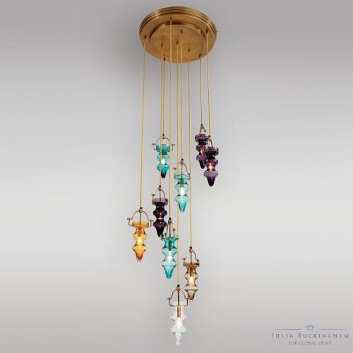 Global views products tea light chandelier jb990030 aloadofball Gallery