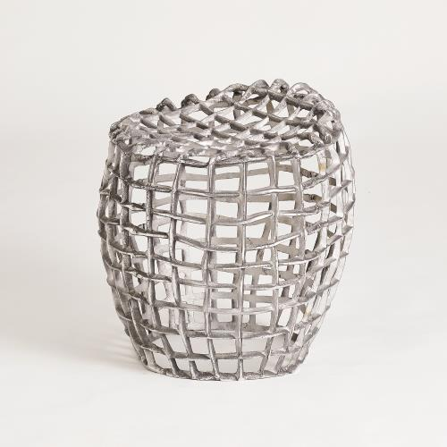 Woven Wire Stool