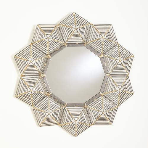 Starlight Wall Mirror-Natural Iron