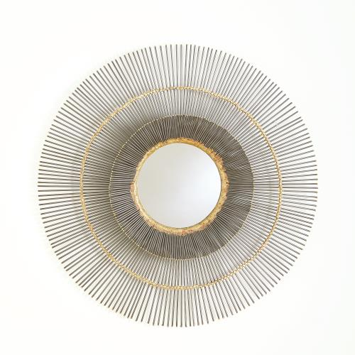 Radiance Wall Mirror-Natural Iron