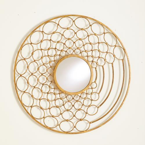 Loop Mirror-Gold