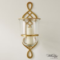 Grand Fret Hurricane Gold 9 92428 Progressive Ring Sconce Br