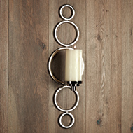 progressive ring sconce