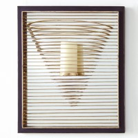 Pyramid Candle Sconce
